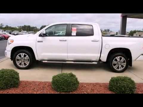 2016 toyota tundra platinum in wilson, nc 27896 - youtube