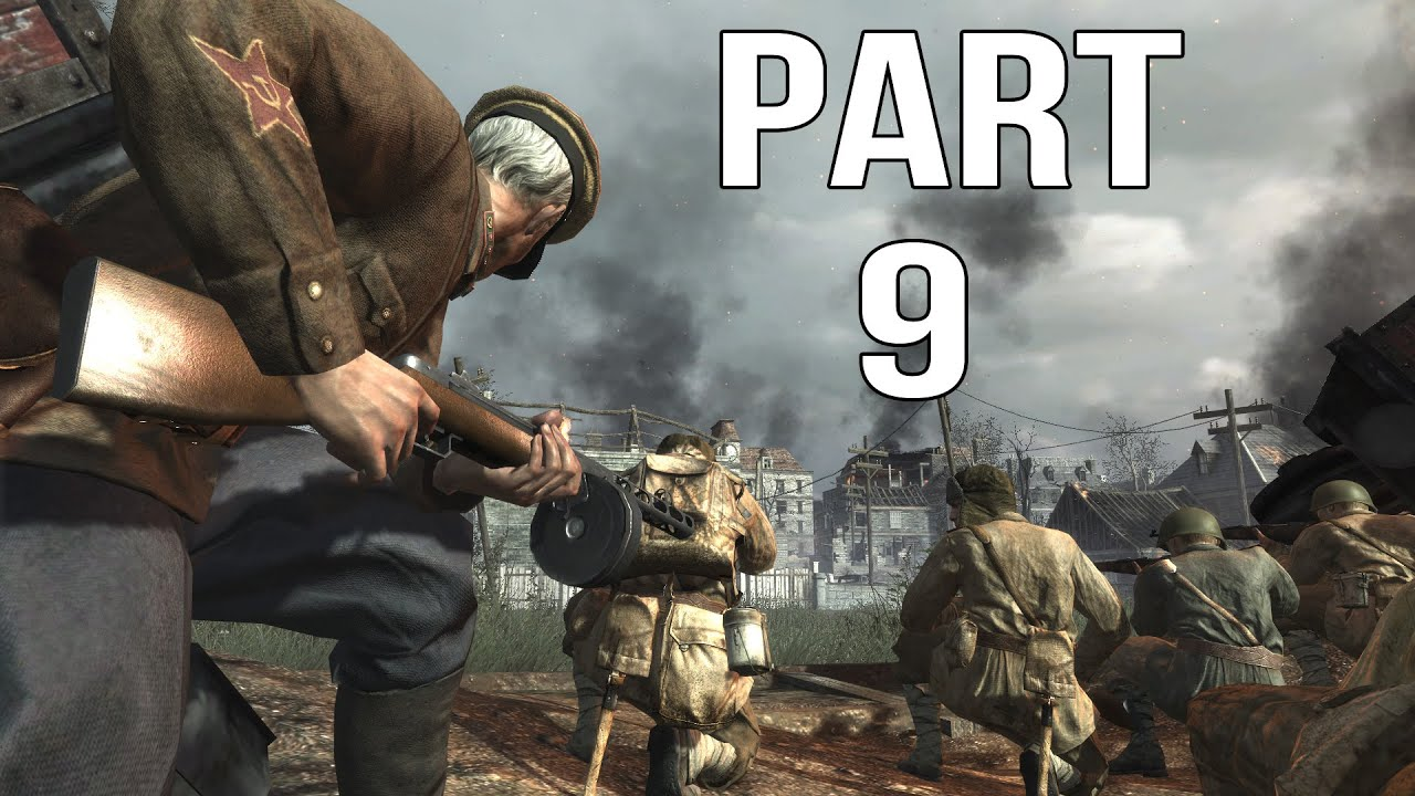 Call of Duty World At War - Gameplay Walkthrough Part 9 - Ring of Steel