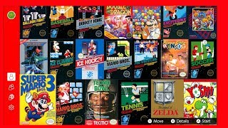 Nintendo Switch Online - NES Game Library Tour