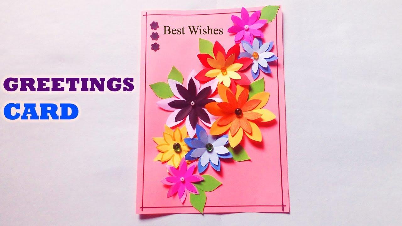 Best wishes card beautiful handmade best wishes card idea diy greetingcards bestwishescard handmadecard m4hsunfo