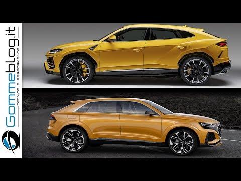 Lamborghini URUS vs Audi Q8 Concept - URUS Ready to Fight with RS Q8?  MEGA SUV BATTLE !!