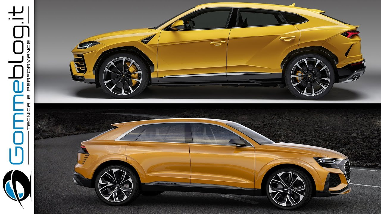 Lamborghini Urus Vs Audi Q8 Concept Urus Ready To Fight With Rs Q8