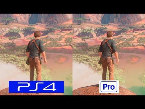 Uncharted 4 | PS4 VS PS4 PRO | GRAPHICS COMPARISON | Comparativa