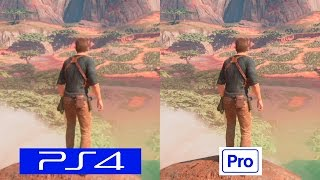 Uncharted 4 | PS4 VS PS4 PRO | GRAPHICS COMPARISON | Comparativa