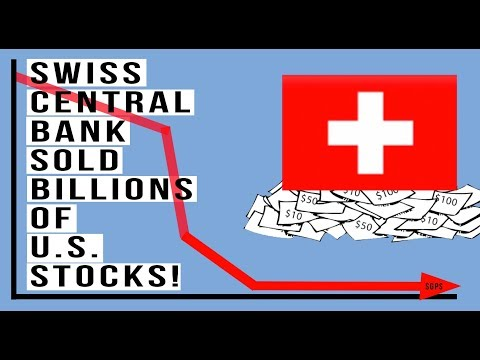 🇨🇭Swiss Central Bank SOLD Billions of U.S. Stocks RIGHT BEFORE the October Stock Drop!