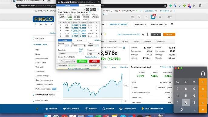 trading con fineco