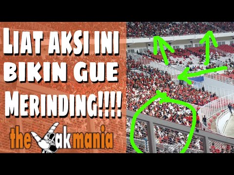 MERINDING!!!, Chants & Koreo JAKMANIA!!!  (Final Piala Presiden 2018)