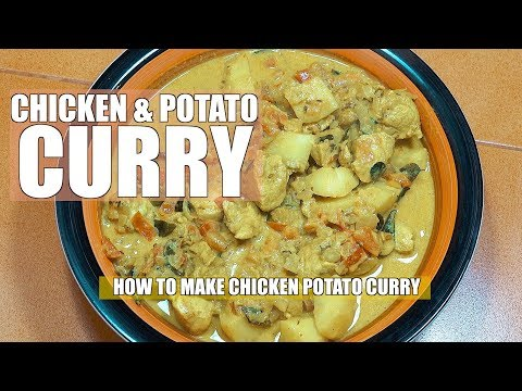 How To make Chicken Potato Curry