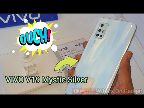 VIVO V19 Mystic Silver
