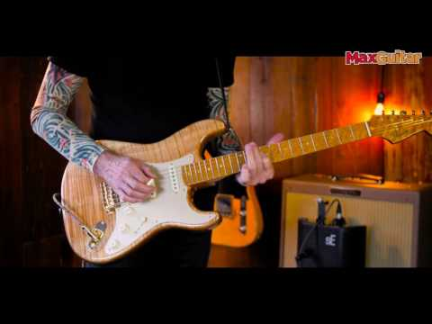 Max Guitar - Fender Custom Shop Artisan Spalted Maple Stratocaster