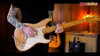 Max Guitar - Fender Custom Shop Artisan Spalted Maple Stratocaster