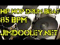 Download Hip Hop Drum Beat 85 BPM - JimDooley.net MP3 song and Music Video