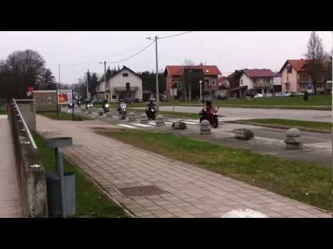 MKDS - 5. rođendanski party i blagoslov motora - defile, 23.03.2013.