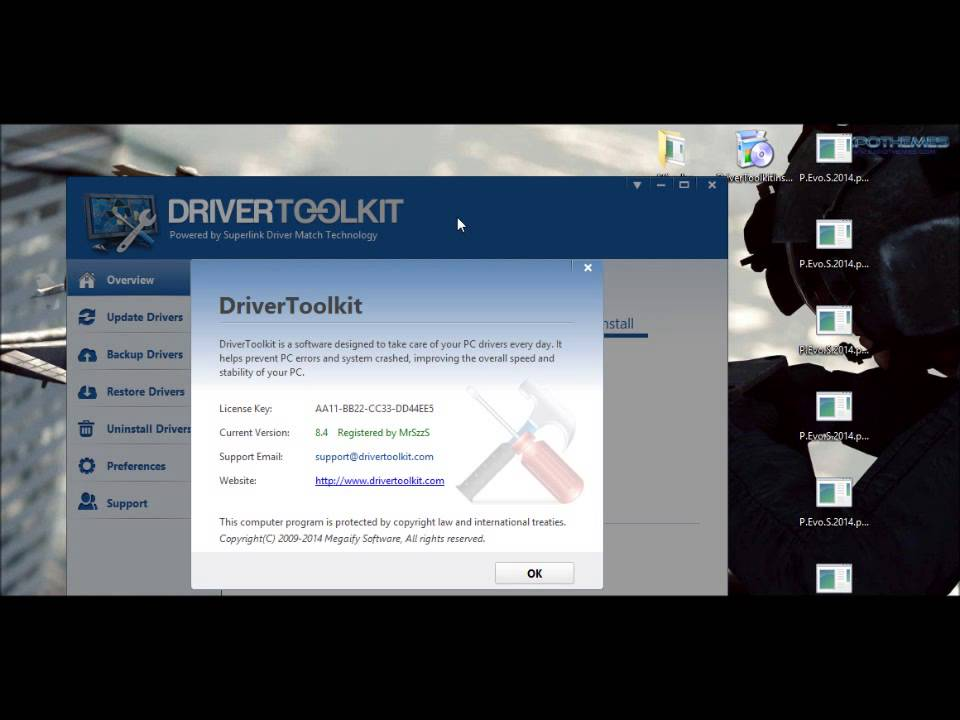 Driver toolkit free email+license key in desc. [no download.