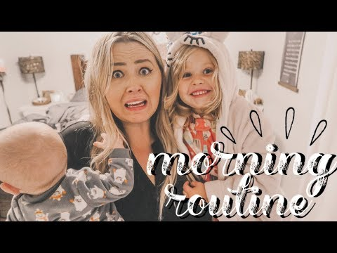 MORNING ROUTINE OF A FULL TIME WORKING MOM OF 2 | BABY AND TODDLER