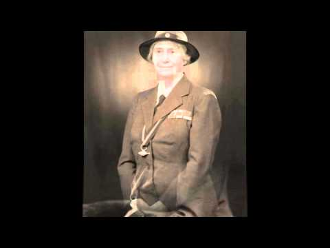Lady Baden-Powell speaks to Canadian Girl Guides