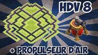 exclu village hdv 8 w propulseur d air nouvelle defense maj