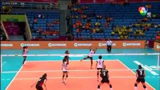 [HD] FIVB Volleyball World Grand Prix 2015  THAILAND vs BELGIUM