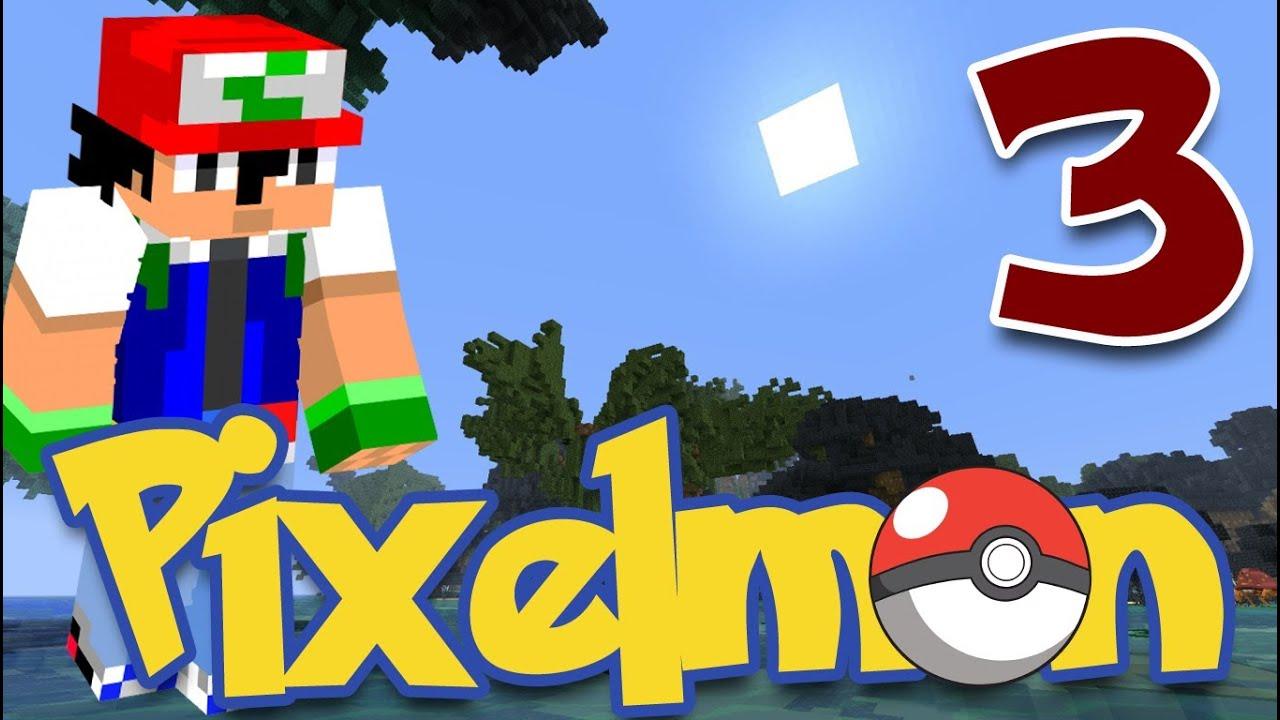 Pixelmon Ep.3 Naked Evolution!?! - YouTube