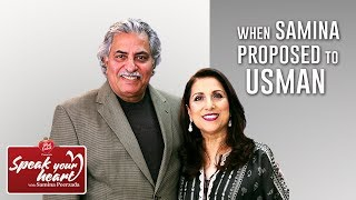 How Usman Peerzada Met Samina Peerzada | Speak Your Heart with Samina Peerzada