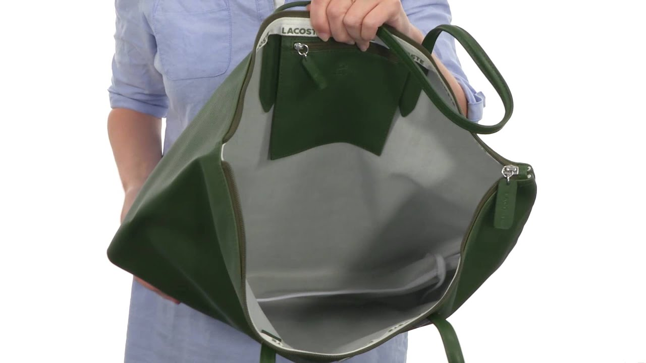 Lacoste L1212 Concept Travel Shopping Bag SKU:8434953 - YouTube