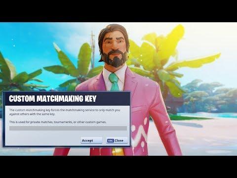 buy fortnite custom matchmaking key