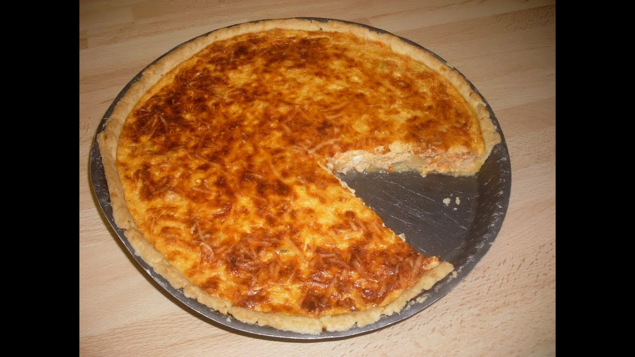 tarte au thon mascarpone et tomate recette facile et delicieuse youtube. Black Bedroom Furniture Sets. Home Design Ideas
