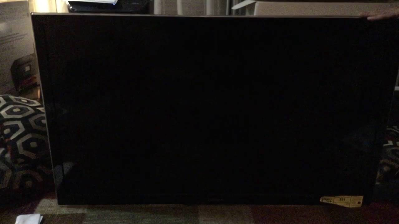 Panasonic Tv Red Blinking Light Need Help Youtube