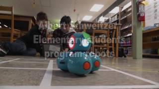 Robot club at Albert Schweitzer Elementary School