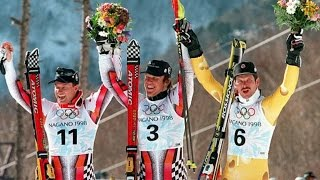 Hermann Maier Olympic GS gold (Nagano 1998)