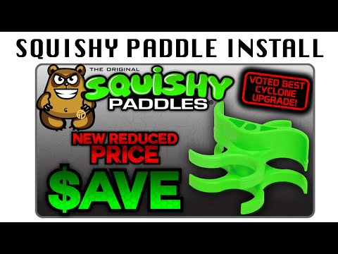X7 Squishy Paddles : TechT Squishy Paddle Installation Video - Original Squishy Paddles and DS - YouTube