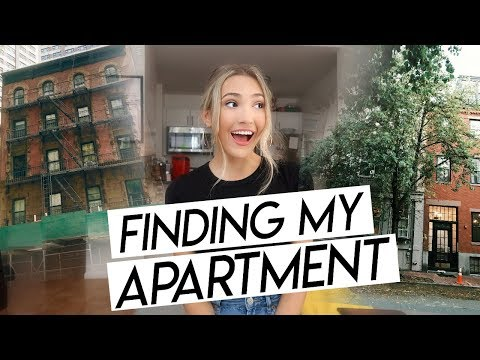 MY NYC APARTMENT HUNT! Finding My NYC Apartment!