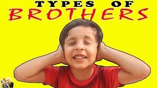 TYPES OF BROTHER  Naughty #Brother #Pranks || Aayu and Pihu Show