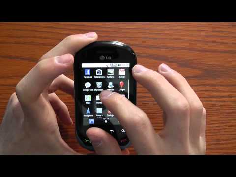 LG Optimus Chat videoreview CellulareMagazine