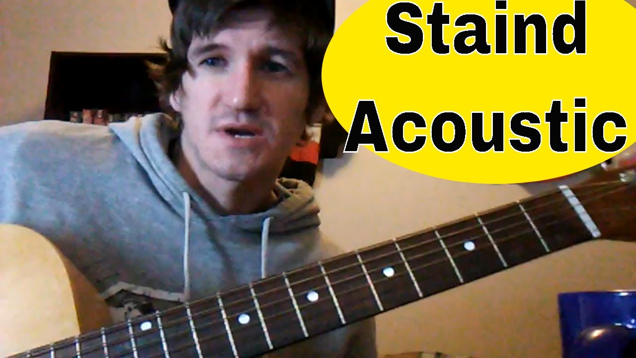 How To Play Outside By Staindaaron Lewis Easy Acoustic Guitar