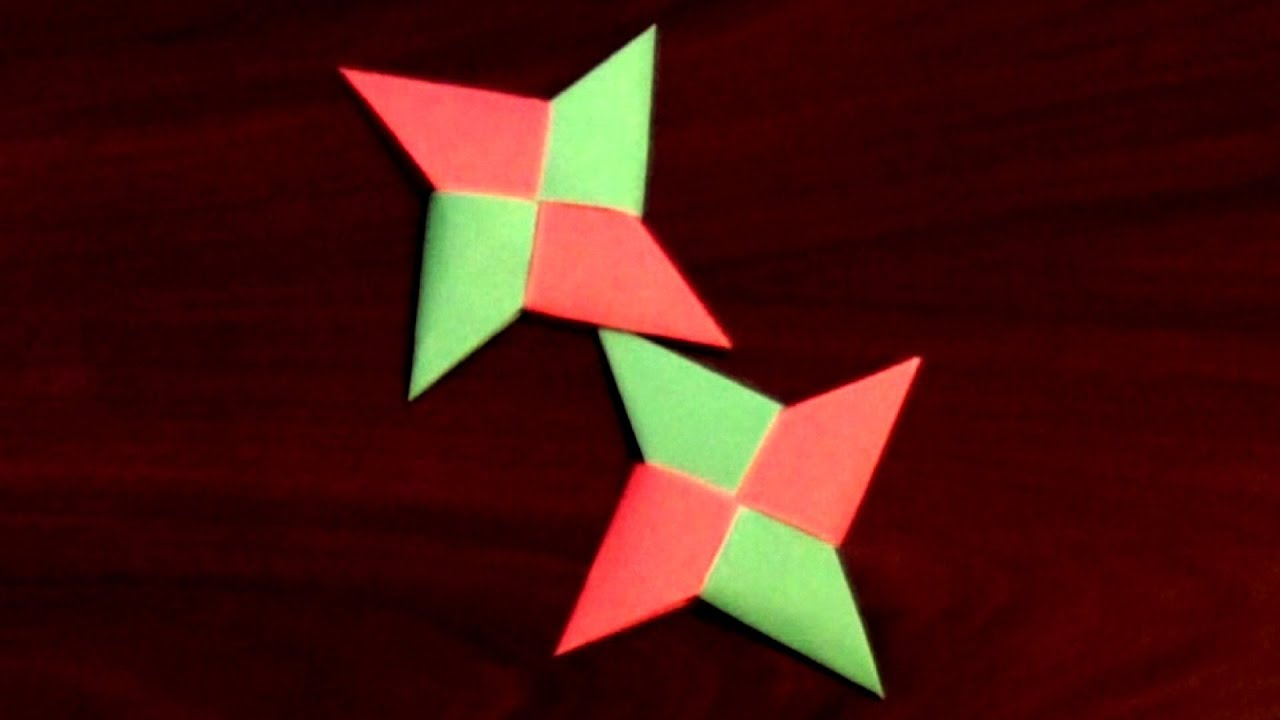 Origami Ninja Star Tutorial - How to make the best Origami ... - photo#13