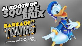 El booth de Square Enix - BarcadeVG Tours