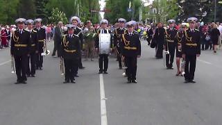 Парад 9 Мая 2017 в Новой Каховке (5 ч.)
