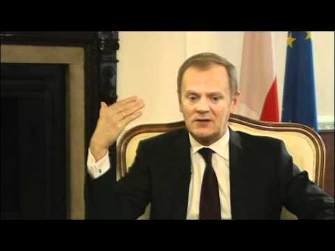 The BBC's Kasia Madera talks exclusively to the Polish Prime Minister Donald Tusk