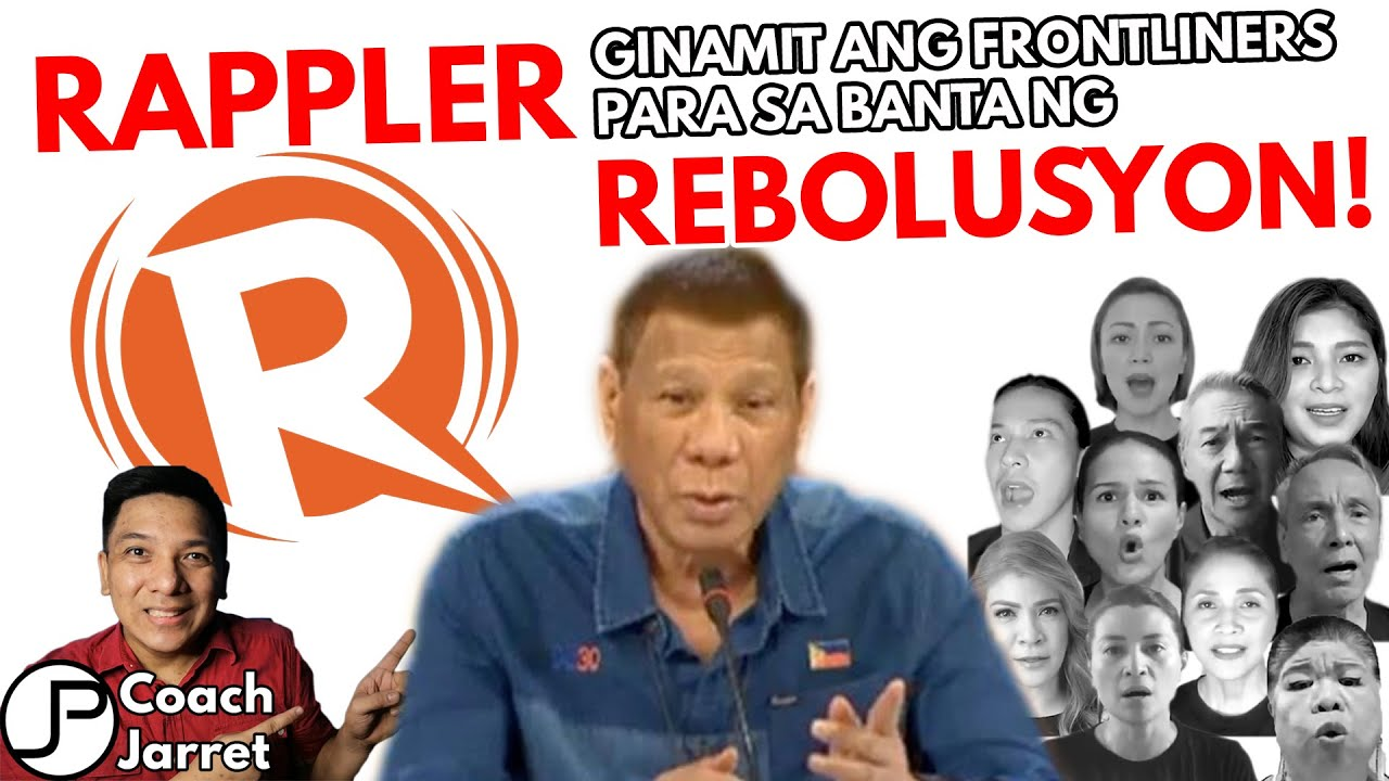 OPOSISYON AT RAPPLER FAKE NEWS NANAMAN| GINAMIT PA ANG MEDICAL FRONTLINERS LABAN KAY PRES DUTERTE