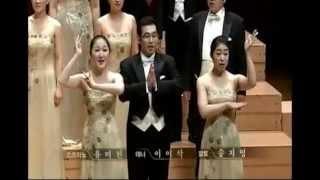 Choir paduan suara korea yang terkenal 인천시립합창단 menyanyikan lagu daerah Indonesia