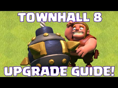 Clash Of Clans Townhall 8 Defense Upgrade Guide | What To Upgrade First At TH8
