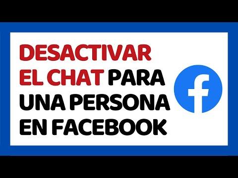 🔴 Cómo Desactivar El Chat De Facebook Para Una Persona 2019