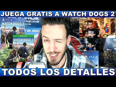 ¡¡¡JUEGA GRATIS A WATCH DOGS 2 EN PS4/XBOX ONE!!! Hardmurdog - Detalles - Opinión - Español