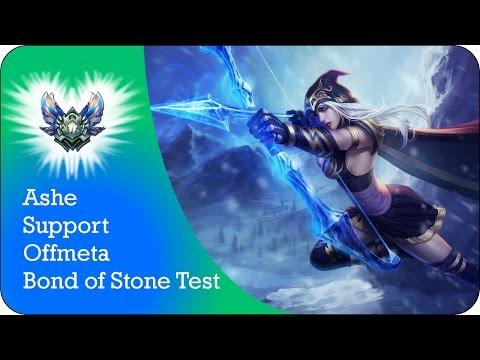 Ashe Support | Das neue Bond of Stone | Gameplay Tipps Tricks