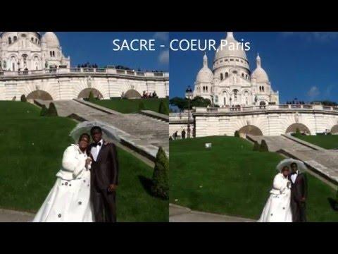 MaRiaGe Paris-MontMartre JOVENA  &  RICHARD basilique du SACRE COEUR de Paris-MontMartre