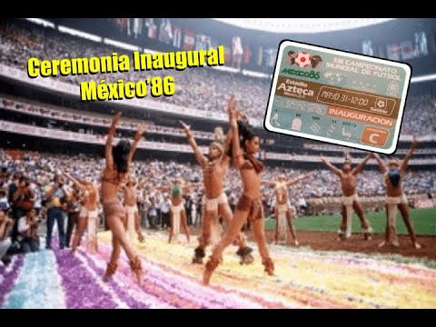 México'86 | Ceremonia Inaugural (Completa)