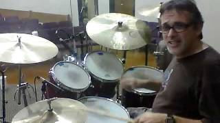 Drum licks with Tony - Texas Shuffle
