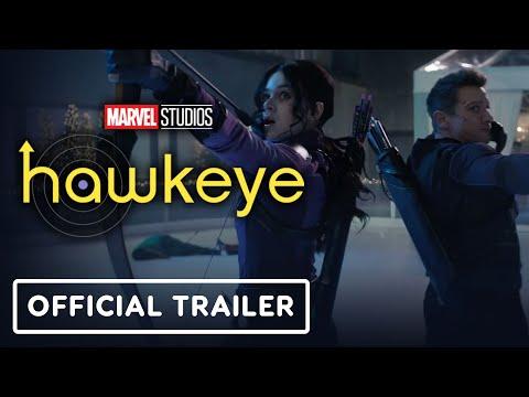 Marvel Studios' Hawkeye - Official Trailer (2021) Jeremy Renner, Hailee Steinfeld