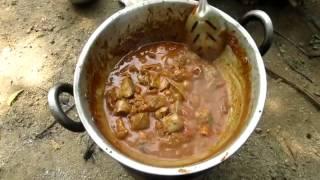 Cooking Goat LUNGS (Gravy) in My Village | Village Style | VILLAGE FOOD